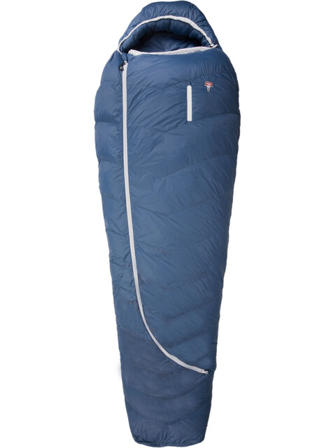 Grüezi-Bag Biopod DownWool Ice 185 Sleeping Bag Men Night Blue